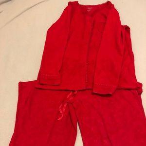 Croft and Barrow Intimates Pajama Set Size Small